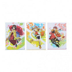 Clear File Erika & Serena & May japan plush