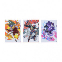Clear File Leon & Raihan & Allister japan plush