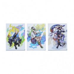 Pochette Transparente Tanguy & N & Chamsin & Chammal Pokémon Trainers