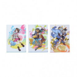 Clear File Gloria & Nessa & Bea japan plush