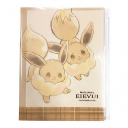 Mini Clear File Cheers Mofu Mofu Eievui japan plush