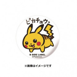 Badge Pikachu japan plush