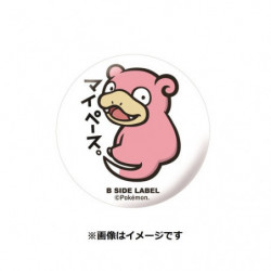 Badge Slowpoke japan plush