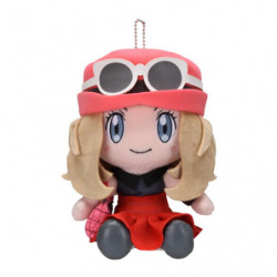 Plush Keychain Trainer Serena japan plush