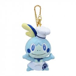 Plush Keychain Sobble Pokemon Cafe Limited Edition