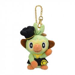 Plush Keychain Grookey Pokemon Cafe Limited Edition