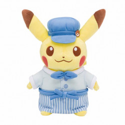 Peluche Pikachu Bleu Pokemon Cafe Limited Edition japan plush