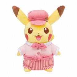 Peluche Pikachu Rose Pokemon Cafe Limited Edition