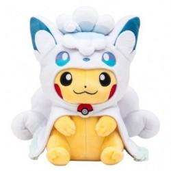 Plush Poncho Alolan Vulpix Pikachu