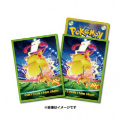 Card Sleeves Gigantamax Pikachu japan plush