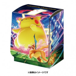 Deck Case Gigantamax Pikachu japan plush
