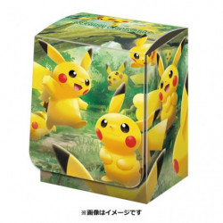 Deck Box Pikachu no Mori japan plush