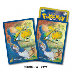 Protèges-cartes Nigosier & Pikachu japan plush