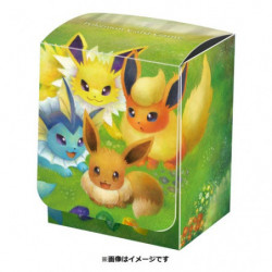 Deck Case Eevee & Evolution japan plush