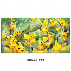 Play Mat Pikachu no Mori japan plush