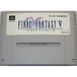 Final Fantasy 5 Super Famicom