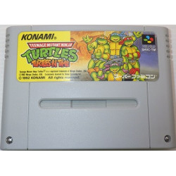 Teenage Mutant Hero Turtles: Turtles in Time Super Famicom japan plush