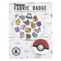 Badge Tissu Pokémon japan plush
