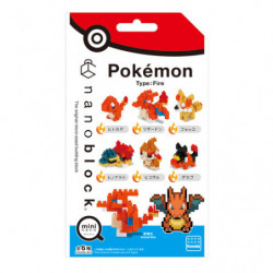 Mini Nanoblock Flame Type Box japan plush
