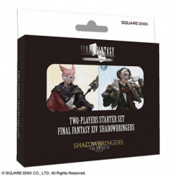 Final Fantasy 14 Shadowbringers Trading Card Game Starter Set English Ver. japan plush