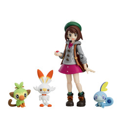 Figure Yuri Pokemon Trainer Figma japan plush