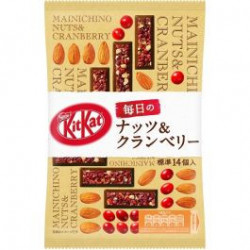 Kit Kat Daily Nuts & Cranberries japan plush