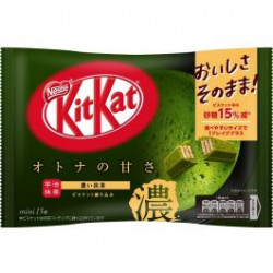 Kit Kat Mini Strong Maccha x13 japan plush
