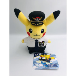 Plush Pikachu Pilot Itami Airport