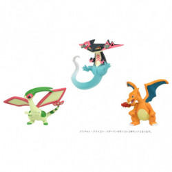 Figure Flygon Dragapult Charizard Moncolle japan plush