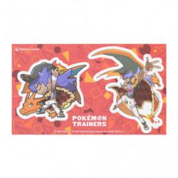 Stickers Tarak Dracaufeu Pokémon Trainers