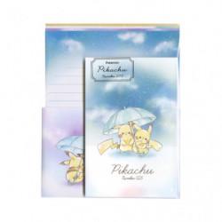 Papier Lettre Parapluie Pikachu number025