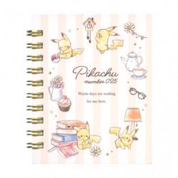 Memo Ring Afternoon Pikachu number025 japan plush