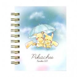 Memo Ring Umbrella Pikachu number025