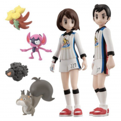 Figure Galarian Region Gym Battle Set Scale World japan plush