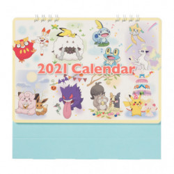 Calendrier Bureau 2021 japan plush