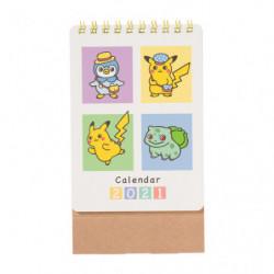 Mini Calendar 2021 Nonbiri Life japan plush