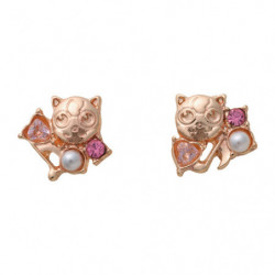 Boucles d'oreilles Rondoudou A japan plush