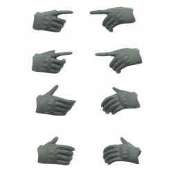 figma Accessory Tactical Gloves Grey LittleArmory