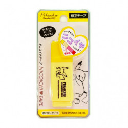 Correction Tape Pikachu number025 Yellow