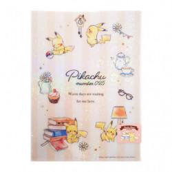 Sous Main Pikachu number025 Après midi japan plush