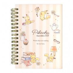 Cahier Anneaux Pikachu number025 Après midi japan plush