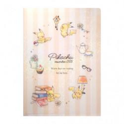 Mini Pochette Transparente Pikachu number025 Après midi japan plush