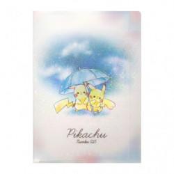 Mini Clear File Pikachu number025 Umbrella japan plush