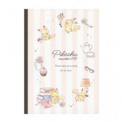 Cahier Tissu Pikachu number025 Après midi japan plush