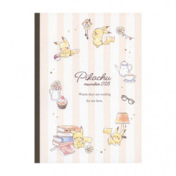 Notebook Cloth Pikachu number025 Afternoon japan plush