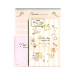 Letter Paper Pikachu number025 Afternoon japan plush