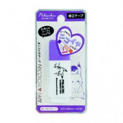 Correction Tape Pikachu number025 Purple japan plush