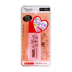 Glue Tape Pikachu number025 Red japan plush
