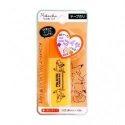 Glue Tape Pikachu number025 Orange japan plush
