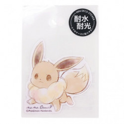 Sticker Eevee Mofu Mofu Eievui  japan plush